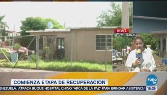 Damnificados Lluvias Sinaloa Regresan Casas Recuperar Pertenencias