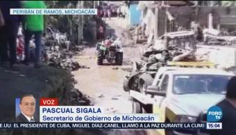 Declaran emergencia en Michoacán por lluvias