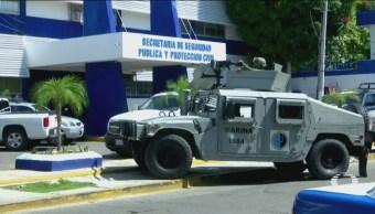 Desarman Policías Acapulco Guerrero Fuerzas Federales