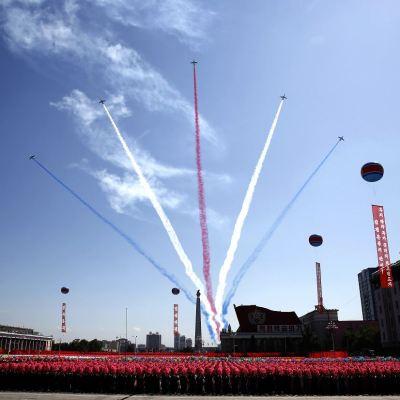 Corea del Norte celebra su 70 aniversario sin misiles balísticos