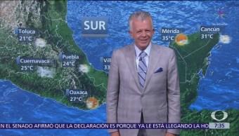 Despierta con Tiempo Lluvias intensas en Villahermosa