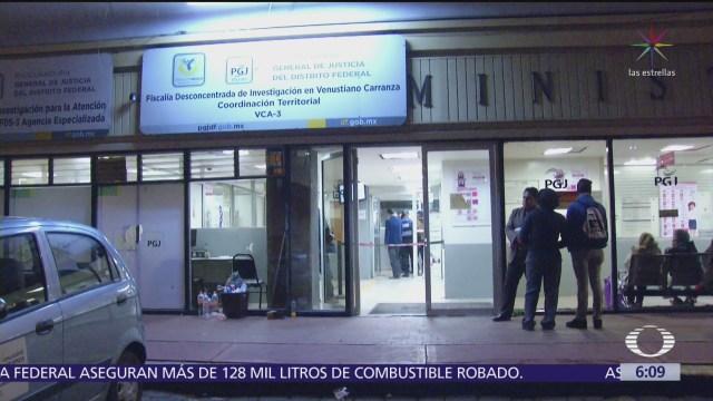Detienen a asaltante en la delegación Venustiano Carranza