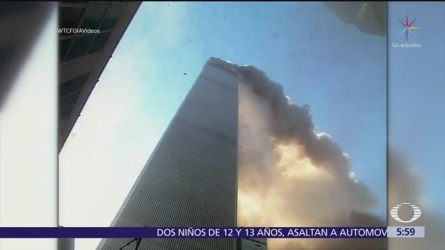 Difunden video remasterizado sobre el atentado del 11-S
