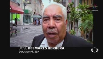 Diputado del PT en SLP explica por qué se llevó aguas y caca
