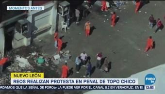 Disturbios en penal de Topo Chico y Apodaca