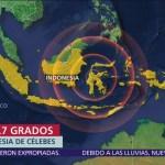 Dos sismos sacuden Indonesia un muerto