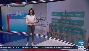 El clima con… Daniela Álvarez