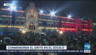 Color Grito Independencia México Zócalo CDMX