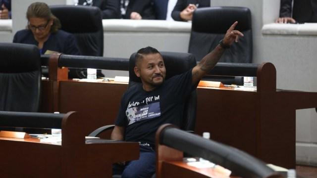 El 'Mijis' bendice su oficina en el Congreso de SLP