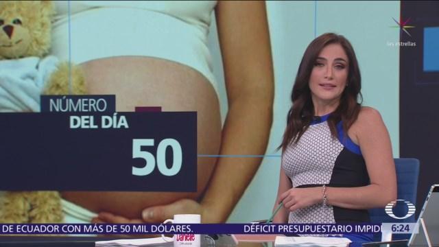 adolescentes mexicanas que se embarazan entre los 15 y 19
