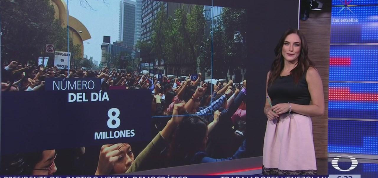 8 millones de personas participaron en el macrosimulacro