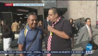 El Repor continúa entrevistas en Glorieta de Insurgentes
