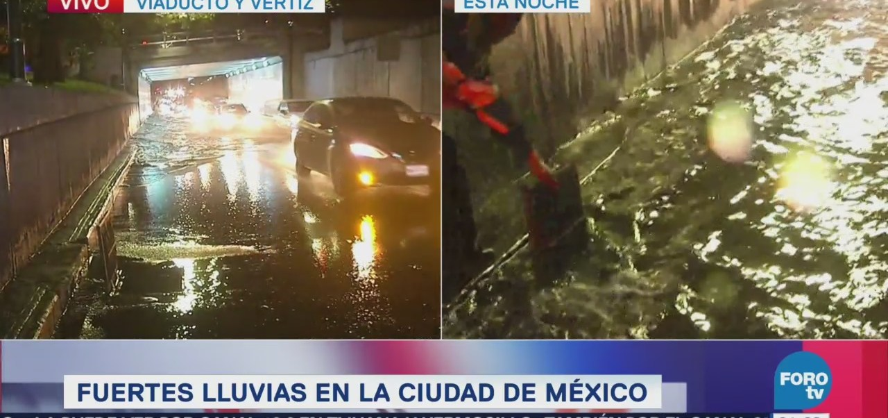 Elementos Ssp Apoyan Ciudadanía Inundaciones Cdmx