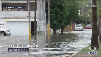 Emergencia en Coahuila por inundaciones