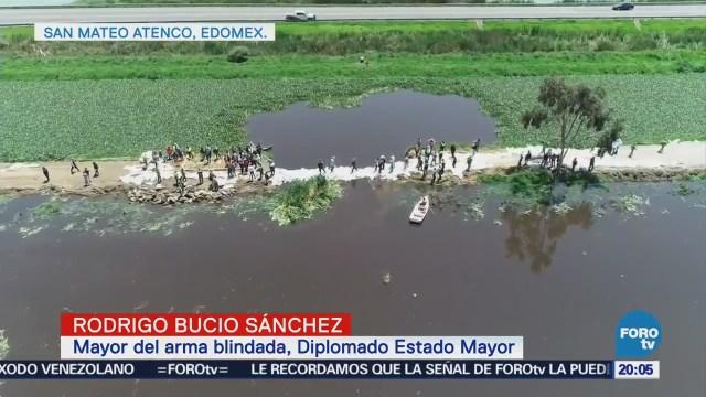 Emergencia por desbordamiento del Río Lerma
