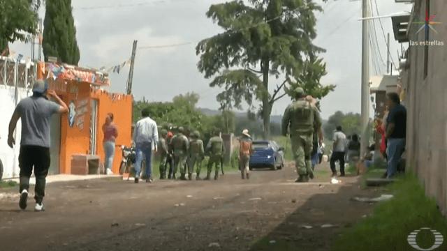 En Otumba, Estado de México, 2 policías casi fueron linchados