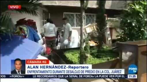 Enfrentamiento Por Desalojo Colonia Juárez