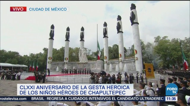 EPN conmemora Aniversario de la Gesta Heroica de Niños Héroes