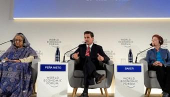 Peña Nieto advierte ambiente antisistémico en México y el mundo
