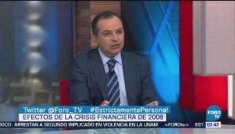 Ernesto Cordero aborda efectos de crisis financiera de 2008