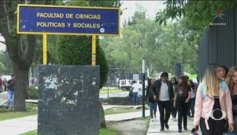 Escuelas en paro de la UNAM reclaman seguridad