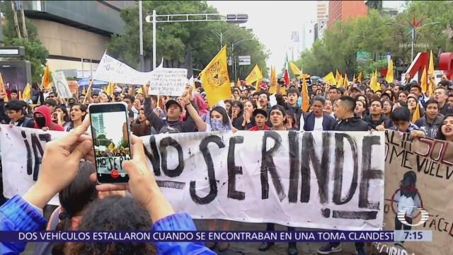 Estudiantes unen sus voces y recuerdan Marcha del Silencio