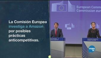 Europa Investiga Amazon Por Prácticas Desleales