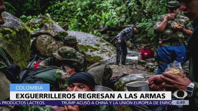 Exguerrilleros de las FARC vuelven a tomar las armas