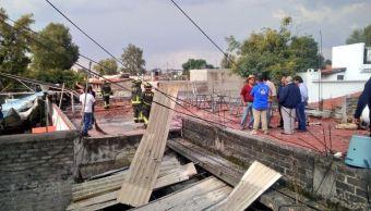 explosion iglesia de coyoacan incendio 400 kilos de polvora