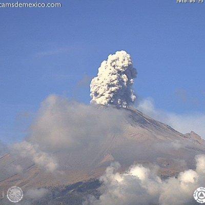 Fractura de domo aumenta actividad del volcán Popocatépetl