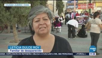 Familiares Desaparecidos Juárez Exigen Intensificar Búsqueda