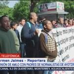 Familiares de los normalistas desaparecidos de Ayotzinapa