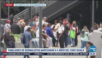 Familiares Normalistas Desaparecidos Alistan Marcha Cdmx