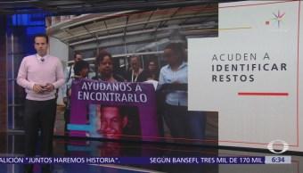 Familias acuden a identificar restos hallados en fosa de Veracruz
