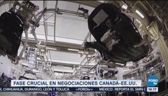 Fase Crucial Negociaciones Canadá-Eu