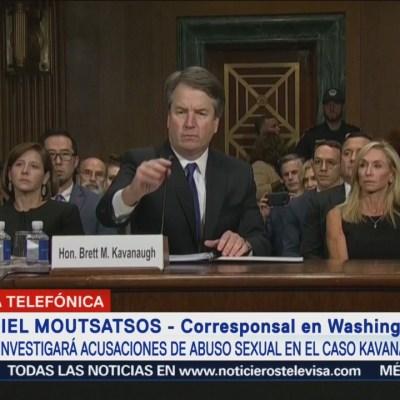 FBI investiga acusaciones en caso Kavanaugh