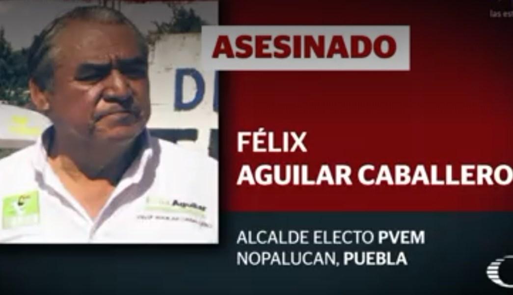 Resultado de imagen para Félix Aguilar, alcalde electo de Nopalucan (Puebla)