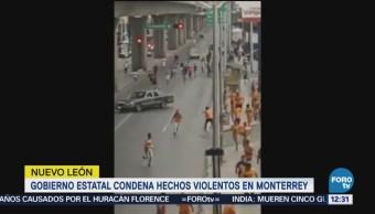 Fiscalía de Nuevo León investiga enfrentamiento aficionados