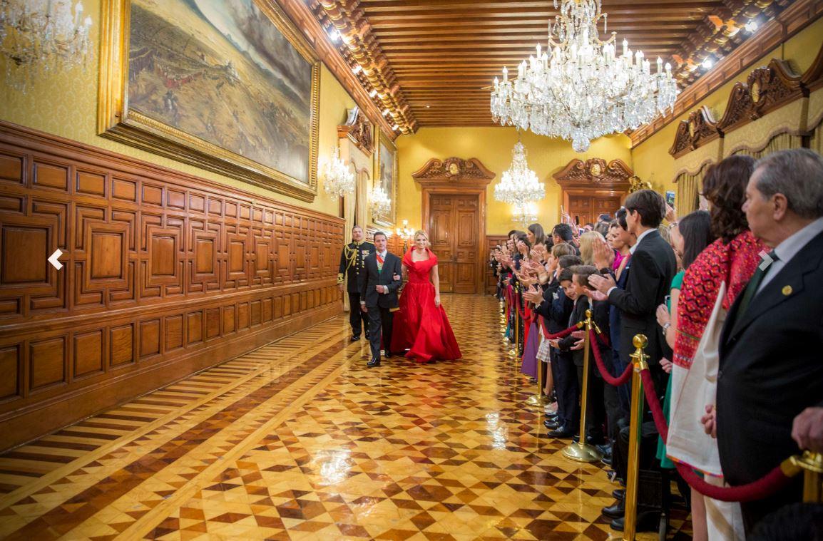 Peña Nieto realiza su último Grito de la Independencia