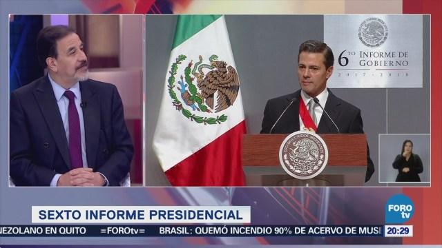 Francisco Gil Villegas analiza el sexto informe de Gobierno