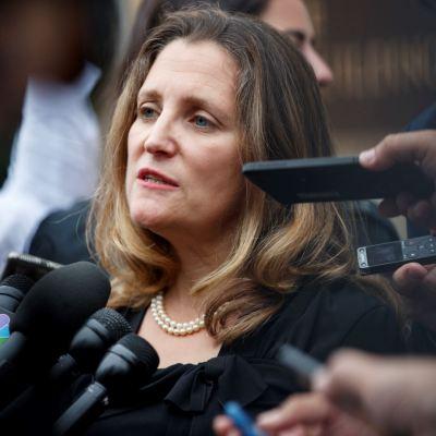 Freeland reanuda negociación 'productiva' de TLCAN con Estados Unidos