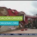 Fundación Origen contribuye a reconstrucción tras sismo