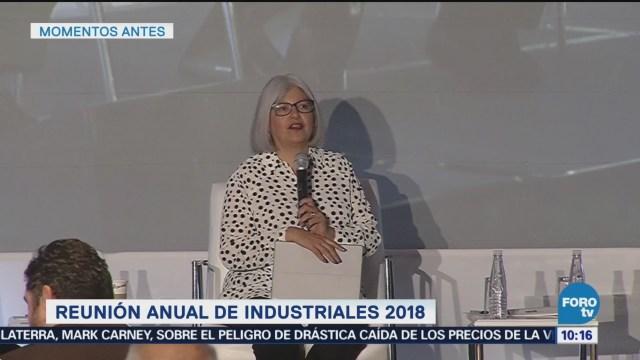Graciela Márquez participa en la reunión anual de industrial