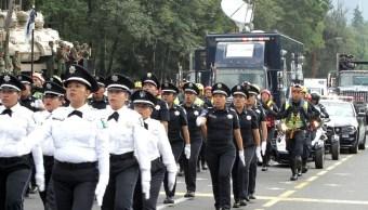 Desfile militar 16 septiembre habilitan alternativas viales
