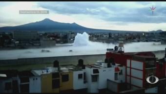 Habitantes Retoman Actividades Tras Fuga Gas Puebla