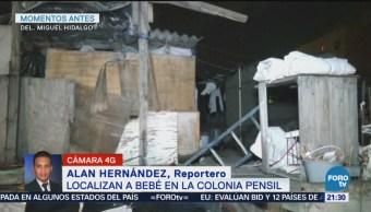 Hallan Bebé Abandonado Azotea Casa Colonia Pensil