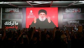 Líder de Hezbolá anuncia que se quedarán en Siria