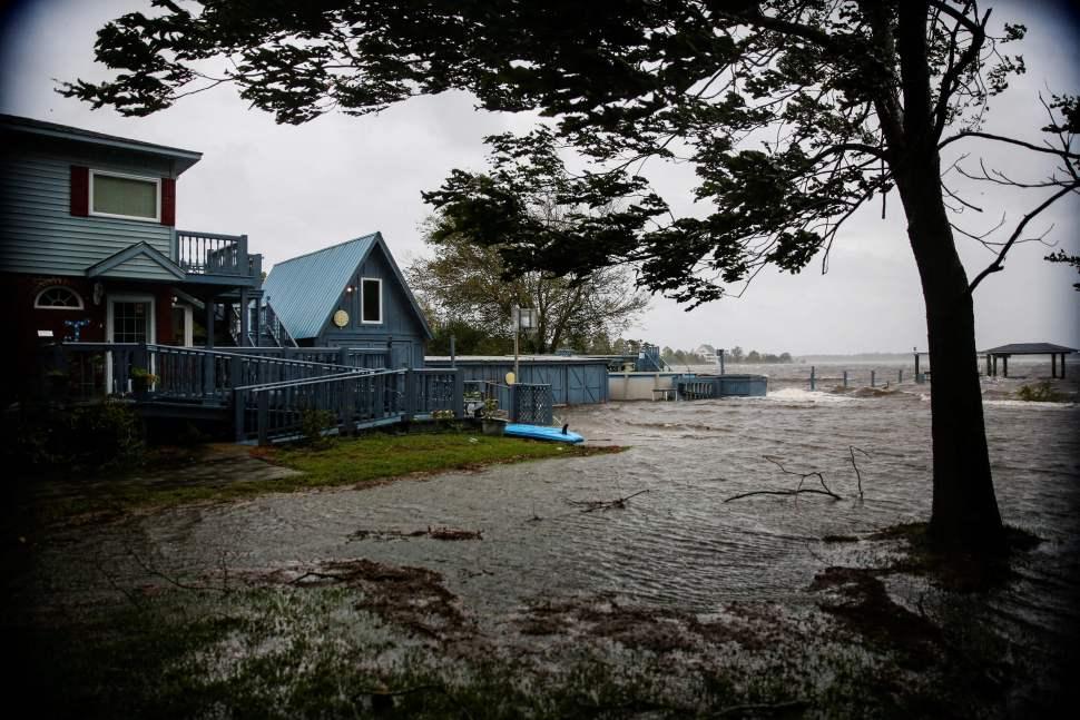 Huracán Florence: ¿cómo se forma una marejada ciclónica?