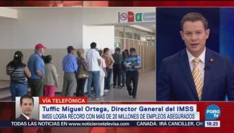 Imss Supera 20 Millones De Asegurados Tuffica Miguel Ortega, Director General Del Instituto