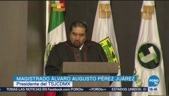 Inauguran Edificio Tribunal Superior Justicia CDMX